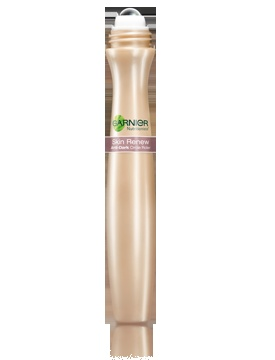 """Skin Renew Anti-Dark-Circle Eye Roller. Another awesome Garnier product! I have puffy eyes from allergies this time of year and dark circles ALWAYS bc I have a 2 year old! This felt cool and soothing and instantly brightened under my eyes. Great coverage too!"" -- Totally thought this was something else when I first saw it."
