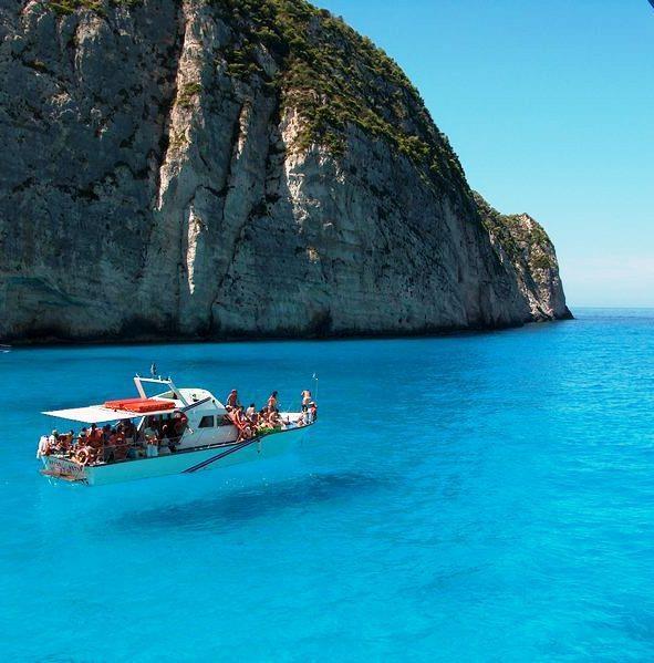 Zakynthos: Crystals, Clear Water, Buckets Lists, Blue, Boats, Zakynthos Islands, Travel, Greek Islands, Zakynthos Greece