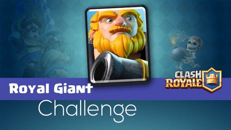 👑 Clash Royale  👑 -  Royal Giant Challenge😁