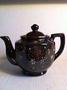Japanese Brown Glaze Teapot