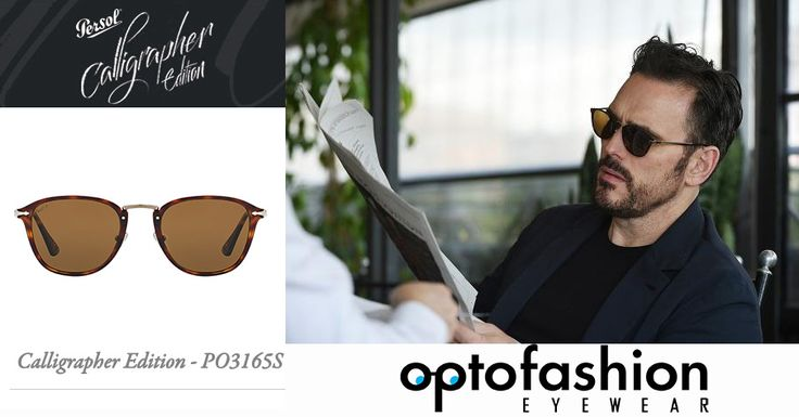 Ο Matt Dillon με τα νέα γυαλιά Persol Calligrapher Edition Αυτά τα κομψά γυαλιά ηλίου ανήκουν στη νέα συλλογή της Persol Calligrapher. Τετράγωνο σχήμα  με κόκαλο και μέταλλο έχουν σχεδιαστεί ειδικά για εκείνους που αγαπούν τη σύγχρονη κομψότητα, αλλά δεν είναι διατεθειμένοι να συμβιβαστούν. Η έμπνευση προέρχεται από την αρχαία τέχνη της καλλιγραφίας . Απόκτησε την νέα συλλογή της Persol στο www.optofashion.gr