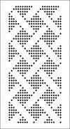 Галерея перфокарт для вязальных машин 3 и 5 класса (SILVER REED, BROTHER) с раппортом 24 петли