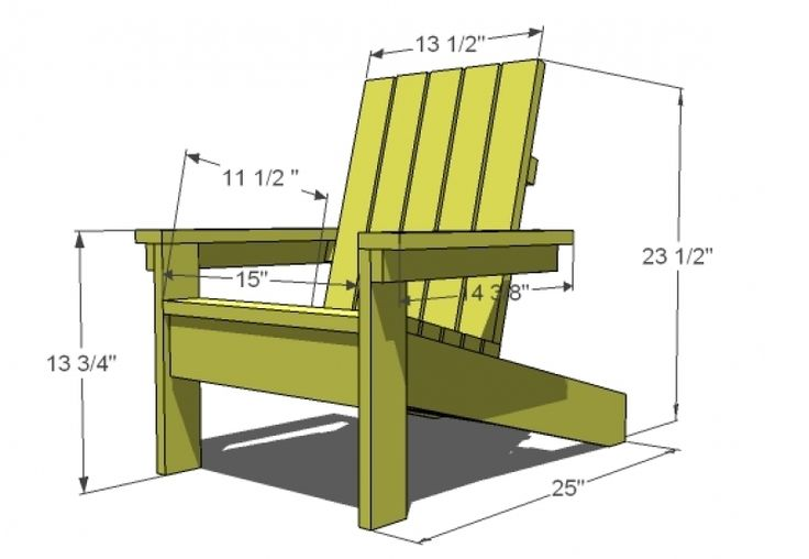 Folding adirondack chair plans woodwork city free