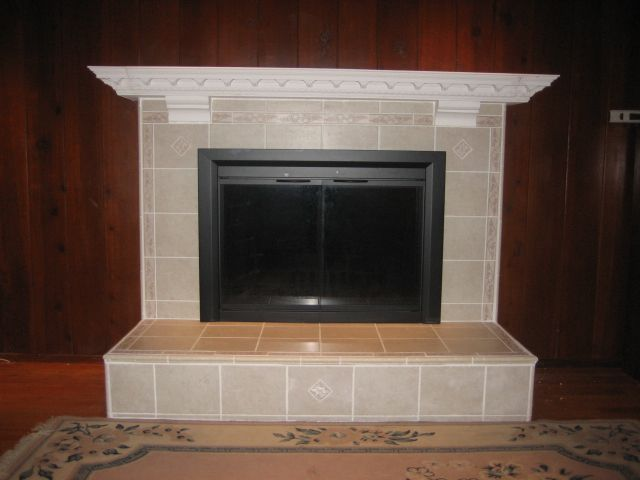 Fireplace Tile Diy Do It Yourself Fireplace Remodels