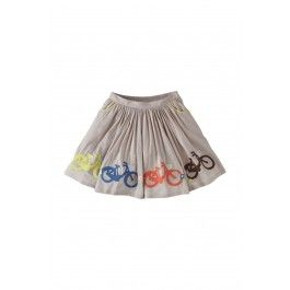 mini Boden Embroidered Skirt