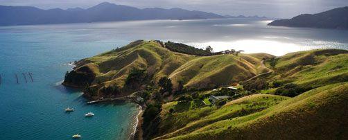 Marlborough Sounds, New Zealand.