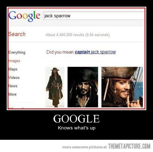 Google knows what's right…