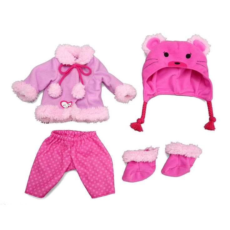 Baby Alive e Size Fits All Outfit Bear Coat Funrise