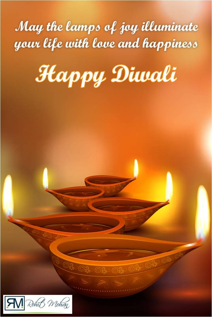Good wishes for a joyous Diwali and a Happy New Year from #RohitMohan #Diwali