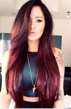 38 best hair extensions images on pinterest salons black and i think its a nice color this hair color indicates more prominent eyes this color matched to each skin color i chose the most beautiful hair color pmusecretfo Images