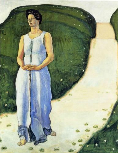 Silence of the Evening - Ferdinand Hodler