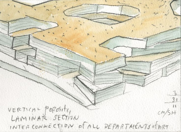 Phòng trưng bày Nghệ thuật xây dựng trực quan tại Đại học Iowa / Steven Holl Architects - 26