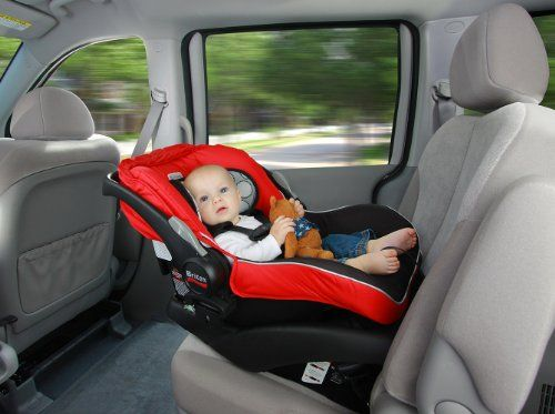 Britax B-Safe Infant Car Seat, Red - The Britax B-Safe Infant Car Seat is designed and engineered to high safety standards. Featuring side impact protection, and an energy-absorbing foam liner, the Britax B-Safe Infant Car Seat provides industry leading front, rear and side impact protection. | | Maternity Madam | #maternity #pregnancy #car #seats #carseats