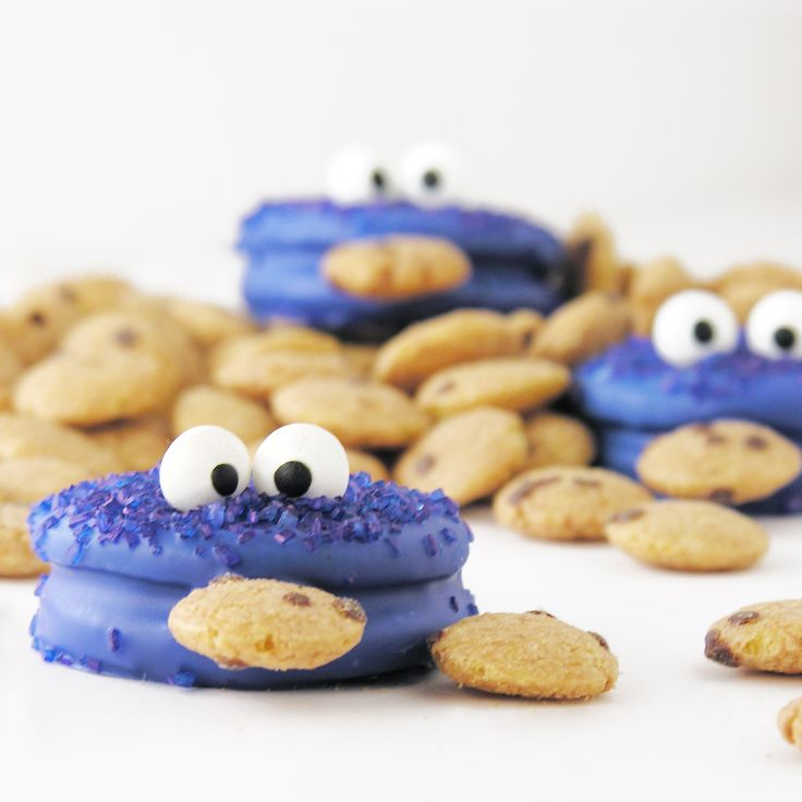 Cookie Monster Oreos Easybaked.net