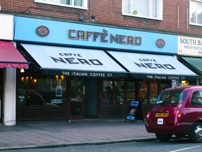 I love Caffe Nero!:)