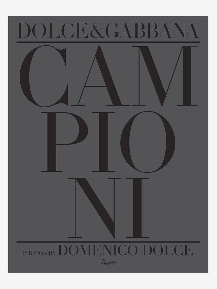 RIZZOLI , Dolce Gabbana Campioni Kitap  #shopigo #shopigono17 #ss16 #conceptstore #onlinestore #onlineshopping #buyonline #onlineconceptstore #rizzoli #books #lifestyle