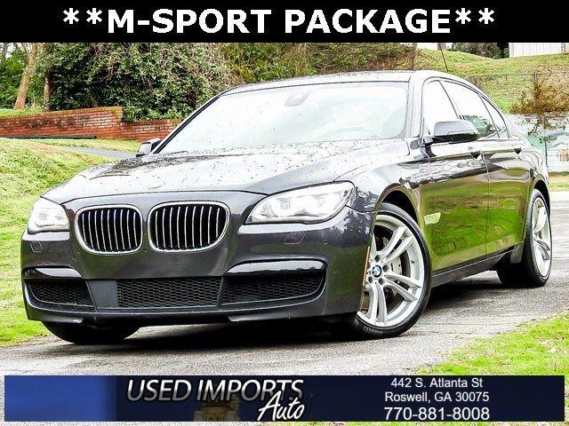 Ebay Advertisement 2015 Bmw 7 Series 750li 2015 Bmw 7 Series Dark Graphite Metallic With 79399 Miles Available Now In 2020 Bmw 7 Series Bmw Sports Package