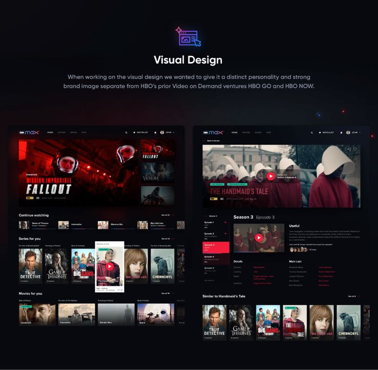 HBO Max UX Research and Conceptual Design on Behance