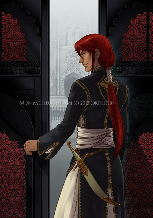 Inspiaration for Zammarian men's garb. My Best Enemy by Orpheelin.deviantart.com on @deviantART