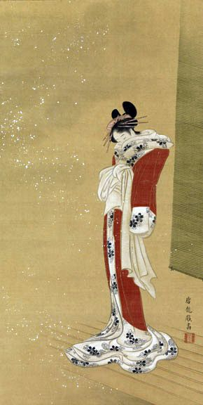 """""""Winter Beauty"""" by Sakai Hoitsu (1761-1828)"""