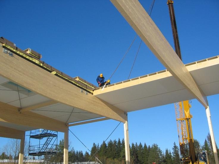 costruzione in corso #legno