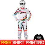 2015 JT Racing Flex Flow MX Motocross Kit Combo - White