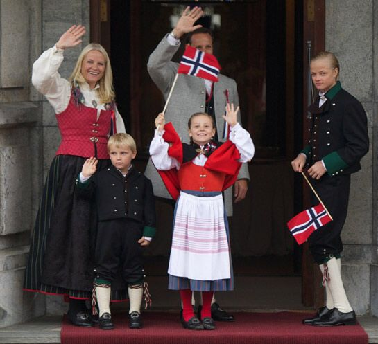 Royal family on Norways National day 17. May