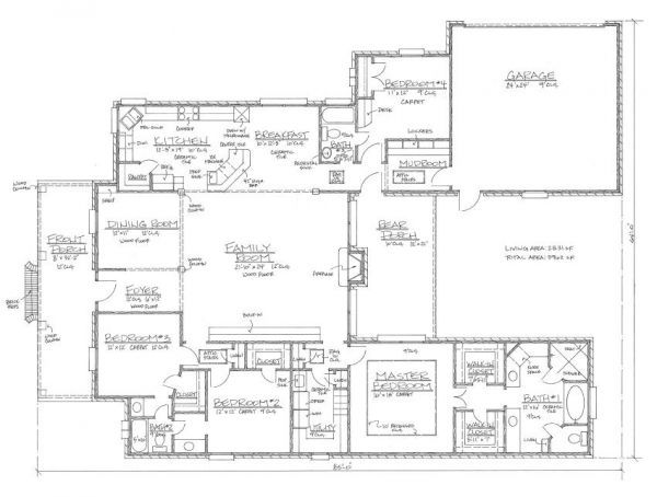 Southern louisiana house plans house plans kabel house for Acadian house plans louisiana