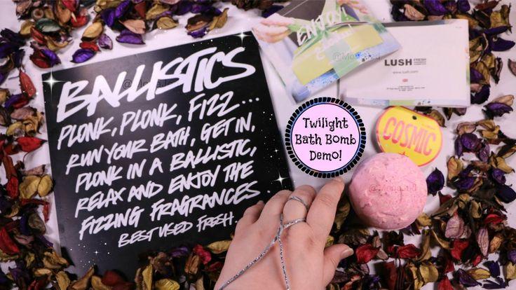 LUSH - Twilight Bath Bomb - Demo Fail !