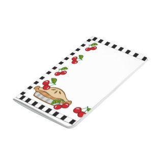 Cherry Pie Pocket Journal