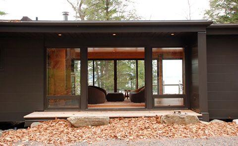 Modern cabins - Small prefab cabin