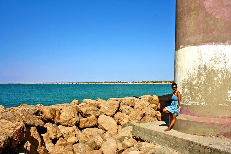 Vacation, ocean, girl, photoshoot, summer, tunisia, trip,warm, hot, brown, rocks