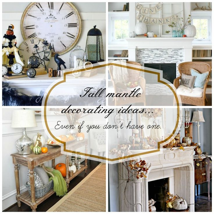 Fall Mantle Decorating Ideas And Fall Decor And Display