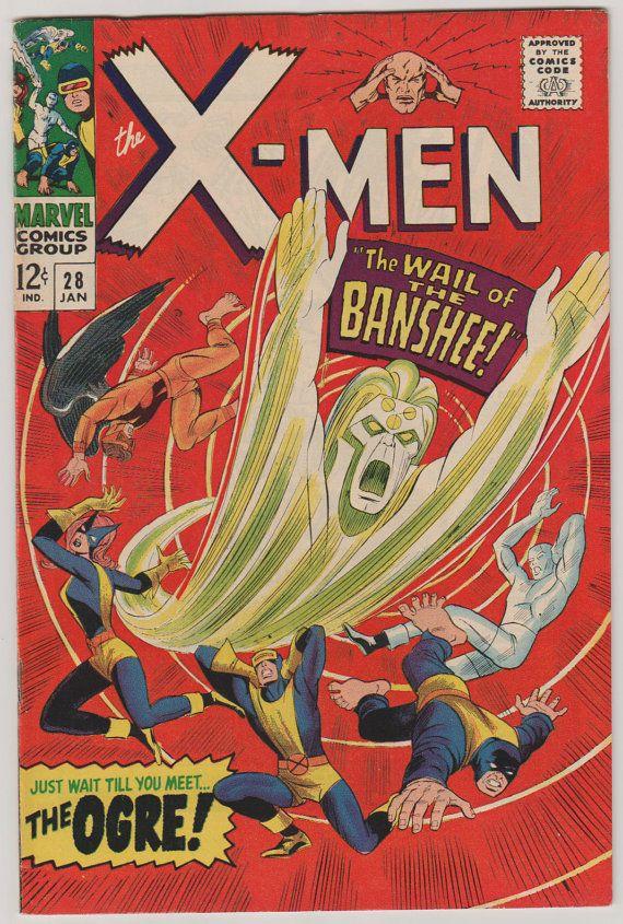 Uncanny X-Men V1 28.  VF.  January 1967.  by RubbersuitStudios #xmen #comicbooks