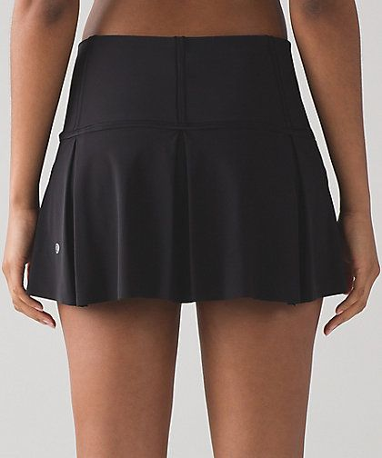 Lululemon Lost In Pace Skirt Regular & Tall Color:  Black Size:  2-12 Price:  68.00 Released:  2017