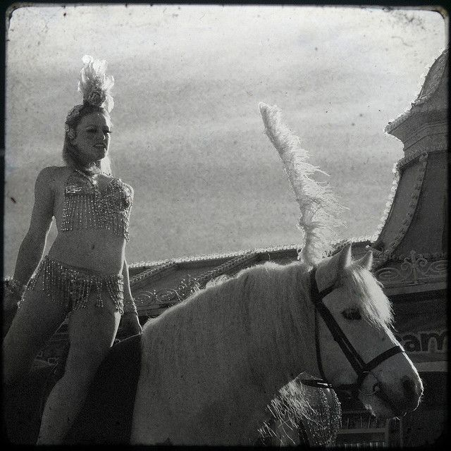 Vintage Circus - Horse Trainer.