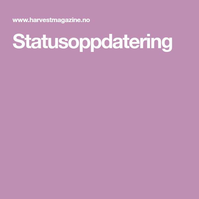 Statusoppdatering