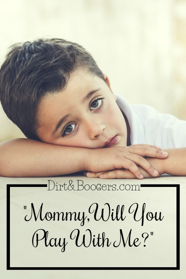 One Awesome Tip To Get Things Done When Your Child Won't Play On Their Own