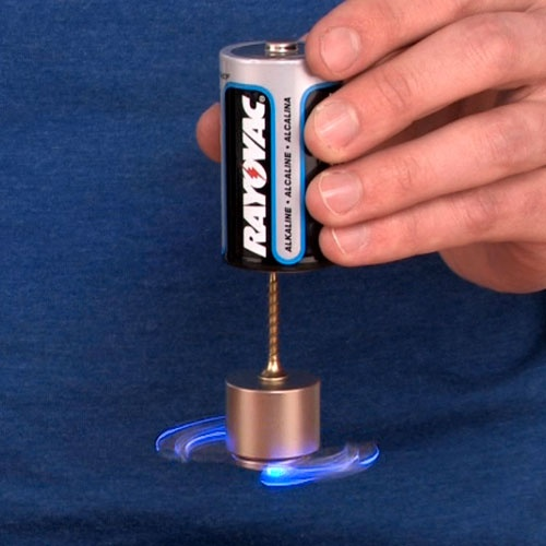 Homopolar motor experiments thing to do pinterest for Homopolar motor science project