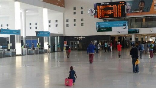 Central Railway Station Cape Town
