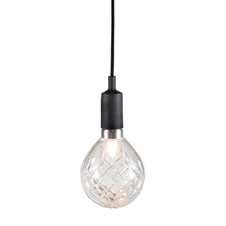 Mix and Match Amelia Glass Halogen Shade  Clear