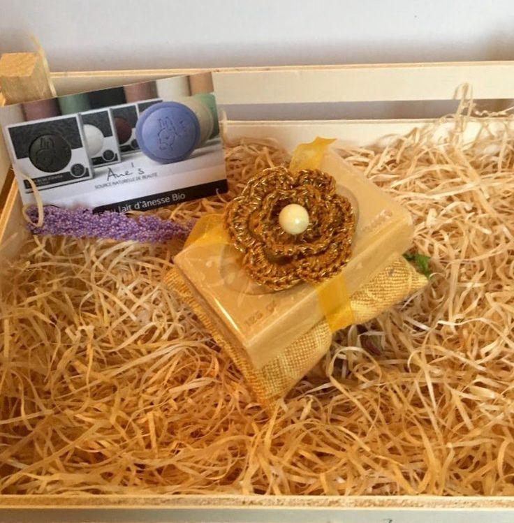 Sapone naturale di Provenza con cuscinetto Imbottito giallo, by L' Atelier di Trame Preziose, 7,00 € su misshobby.com