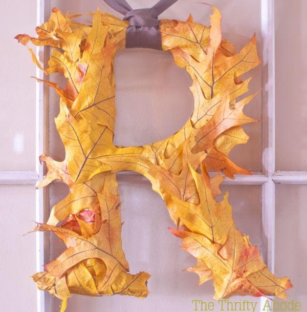 Leafing Fantastic {DIY Fall Leaf Decor!}