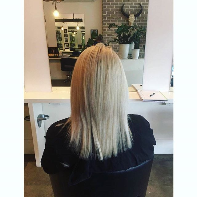 ZADA CREATIONS || RE-GROWTH AND COLOUR BY LIL !    #hairtranformation #blonde #blondebomshell