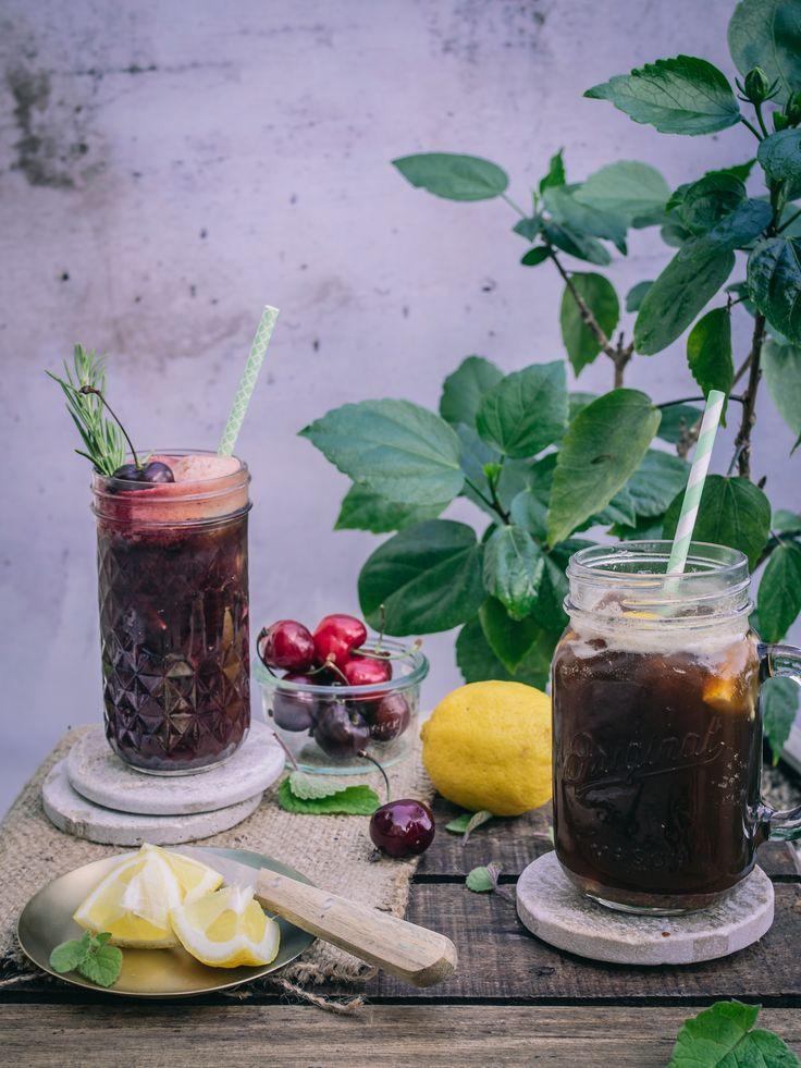 DER Foodtrend des Sommers kommt aus Schweden: frische Kaffeelemonad in 2 fruchtigen Sorten!