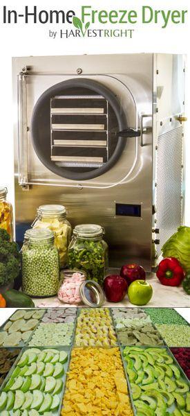 Freeze Dryer dryerwithfood3