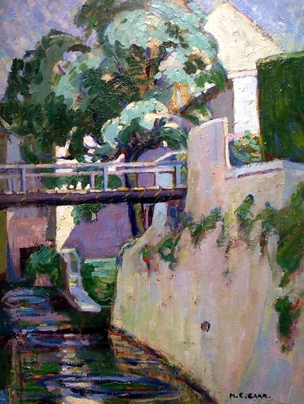 Emily Carr. Canal in Britanny