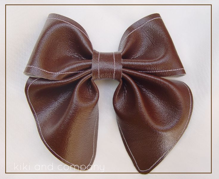 Best Tiny Ties Images On   Crowns Bow Tie Tutorial