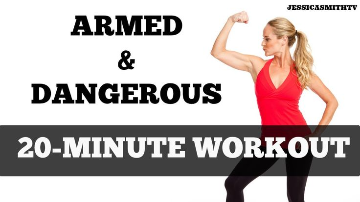 20-Minute Upper Body Abs and Arms Workout: Armed and Dangerous SUBSCRIBE TO OUR YOUTUBE CHANNEL FOR MORE FREE FULL LENGTH HOME WORKOUT VIDEOS!