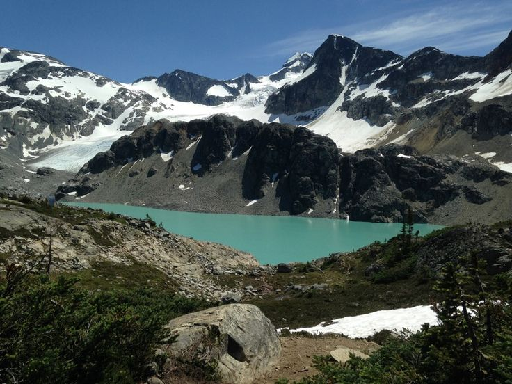 Just a little ways past Whistler BC Canada, you'll find a steep mountain trail leading to one of the true gems of Garibaldi Provincial Park and the Sea to Sky area: Wedgemount Lake.